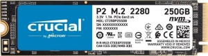 Crucial P2 SSD 250GB PCIe NVMe (CT250P2SSD8)