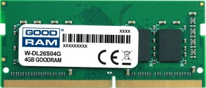 GOODRAM SODIMM 4GB 2666MHz ded. do DELL (W-DL26S04G) (W-DL26S04G)
