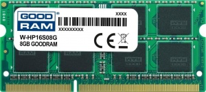 GOODRAM SODIMM 8GB 1600MHz ded. do HP (W-HP16S08G) (W-HP16S08G)