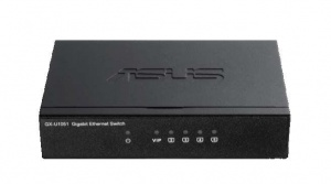 Switch ASUS GX-U1051 5x10/100/1000 Mbps VIP Port (GX-U1051)
